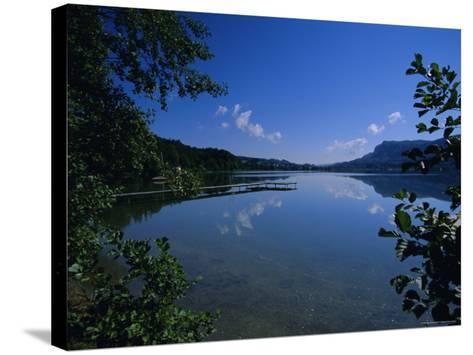 Lake Keutschach, Carinthia, Austria, Europe-Jean Brooks-Stretched Canvas Print