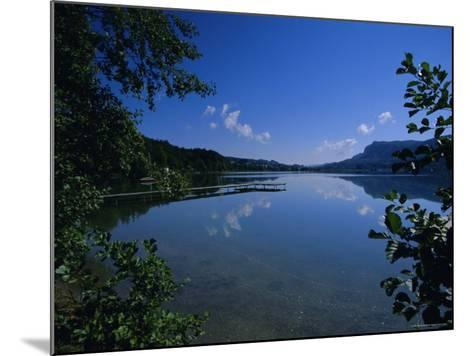 Lake Keutschach, Carinthia, Austria, Europe-Jean Brooks-Mounted Photographic Print