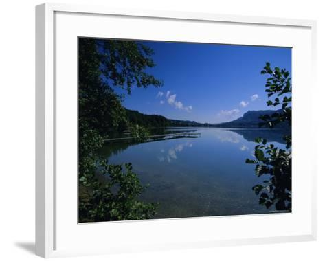 Lake Keutschach, Carinthia, Austria, Europe-Jean Brooks-Framed Art Print