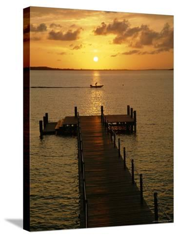 Harbour Island, Bahamas, Caribbean, West Indies-Ethel Davies-Stretched Canvas Print