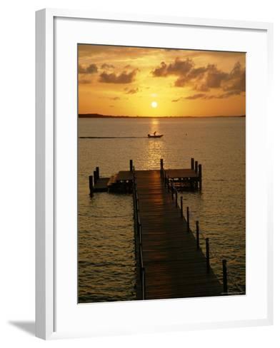 Harbour Island, Bahamas, Caribbean, West Indies-Ethel Davies-Framed Art Print