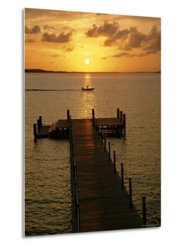 Harbour Island, Bahamas, Caribbean, West Indies-Ethel Davies-Metal Print