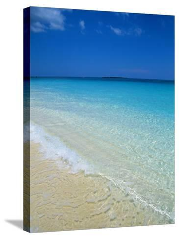 Beach, Paradise Island, Bahamas, Central America-Ethel Davies-Stretched Canvas Print