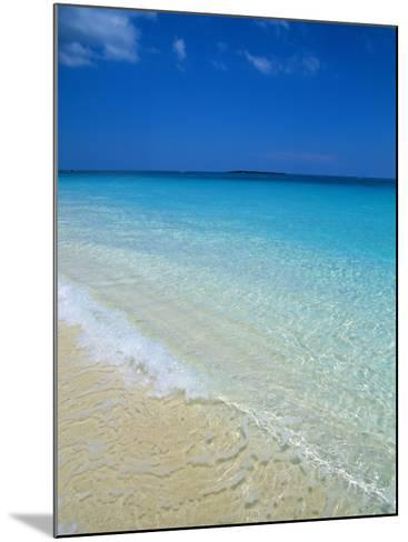 Beach, Paradise Island, Bahamas, Central America-Ethel Davies-Mounted Photographic Print