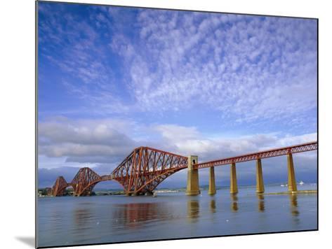 Forth Railway Bridge Over the Firth of Forth, Queensferry Near Edinburgh, Lothian, Scotland, UK-Neale Clarke-Mounted Photographic Print