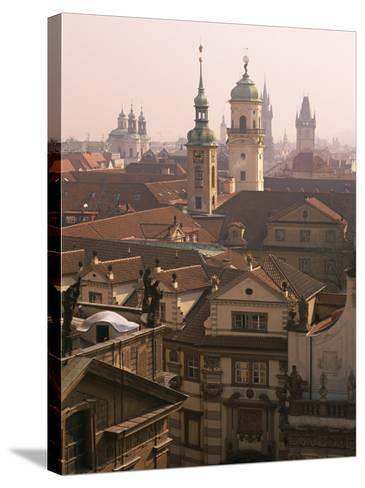 Klementinum Rooftop View (Former Library), Krizovnicke Namesti, Prague, Czech Republic, Europe-Neale Clarke-Stretched Canvas Print