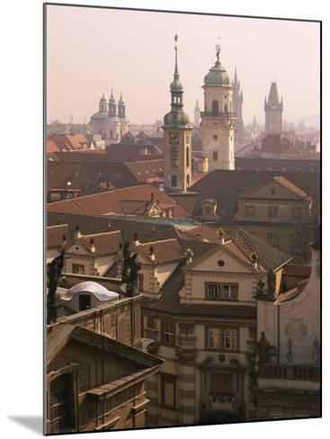 Klementinum Rooftop View (Former Library), Krizovnicke Namesti, Prague, Czech Republic, Europe-Neale Clarke-Mounted Photographic Print