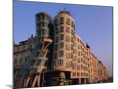 Fred and Ginger Building, Prague, Czech Republic, Europe-Neale Clarke-Mounted Photographic Print