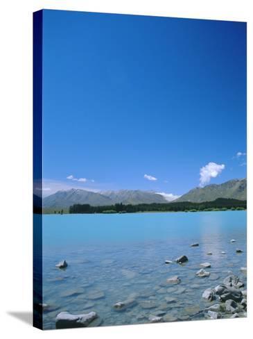 Lake Tekapo, Mount Cook National Park, Canterbury, South Island, New Zealand-Neale Clarke-Stretched Canvas Print