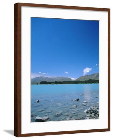 Lake Tekapo, Mount Cook National Park, Canterbury, South Island, New Zealand-Neale Clarke-Framed Art Print