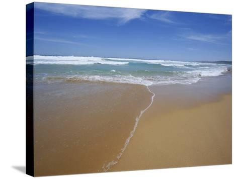 Sand and Surf, Waitpinger Beach, Fleurieu Peninsula, South Australia, Australia, Pacific-Neale Clarke-Stretched Canvas Print