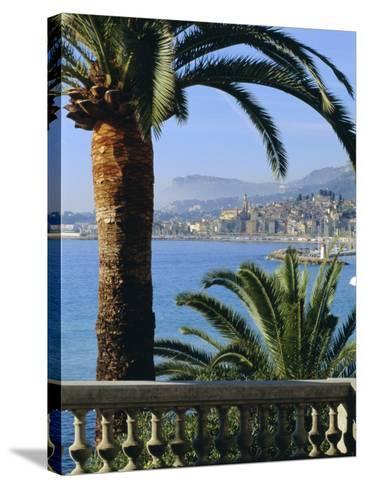 Menton, Alpes Maritimes, Provence, French Riviera, France, Europe-Sylvain Grandadam-Stretched Canvas Print