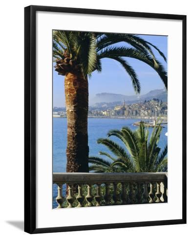 Menton, Alpes Maritimes, Provence, French Riviera, France, Europe-Sylvain Grandadam-Framed Art Print