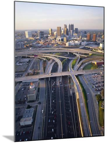 Aerial of Highways Leading to Atlanta, Georgia-Sylvain Grandadam-Mounted Photographic Print