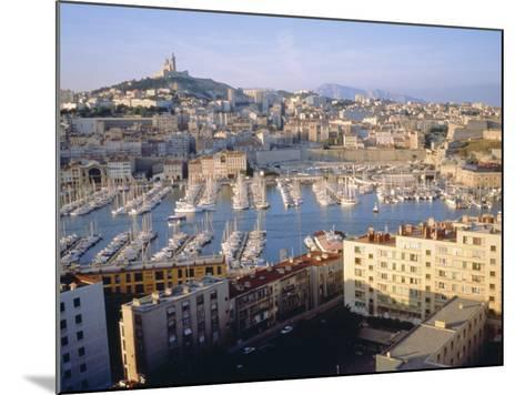 Cityscape of the Port of Marseille, France-Sylvain Grandadam-Mounted Photographic Print