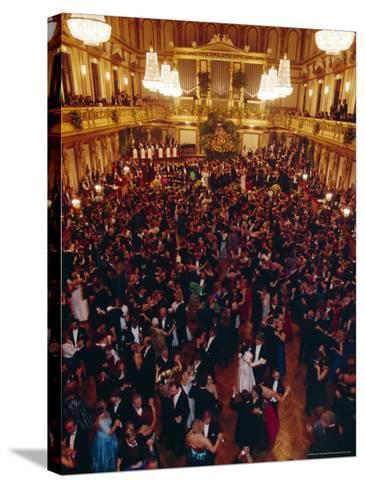 Philharmoniker Ball (Winter Ball), Auersberg Palace, Vienna, Austria-Sylvain Grandadam-Stretched Canvas Print