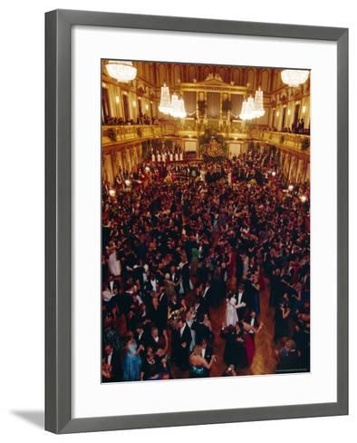 Philharmoniker Ball (Winter Ball), Auersberg Palace, Vienna, Austria-Sylvain Grandadam-Framed Art Print
