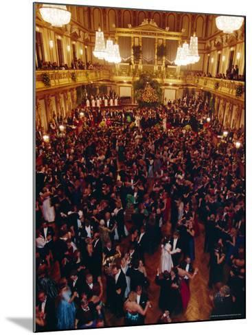 Philharmoniker Ball (Winter Ball), Auersberg Palace, Vienna, Austria-Sylvain Grandadam-Mounted Photographic Print