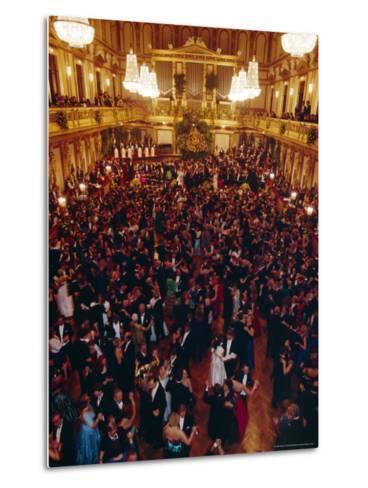 Philharmoniker Ball (Winter Ball), Auersberg Palace, Vienna, Austria-Sylvain Grandadam-Metal Print