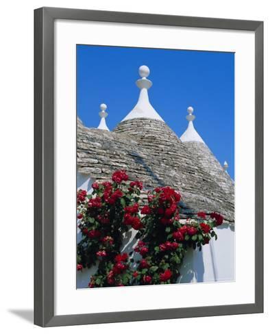 Alberobello, Typical Houses, Apulia (Puglia), Italy-Bruno Morandi-Framed Art Print