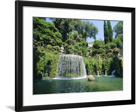 Villa d'Este, Tivoli, Lazio, Italy-Bruno Morandi-Framed Art Print