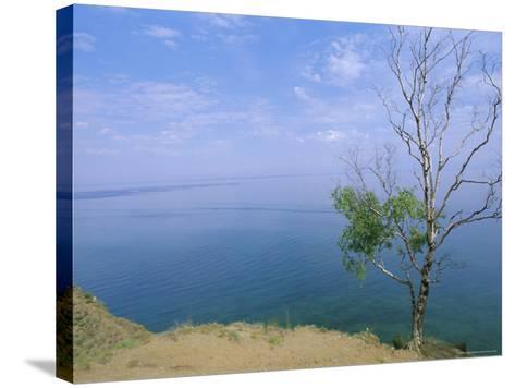 Listvianka, Lake Baikal, Siberia, Russia-Bruno Morandi-Stretched Canvas Print