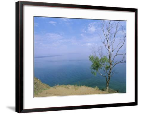 Listvianka, Lake Baikal, Siberia, Russia-Bruno Morandi-Framed Art Print