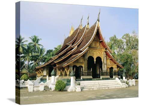 Wat Xieng Thong, Luang Prabang, Laos, Asia-Bruno Morandi-Stretched Canvas Print