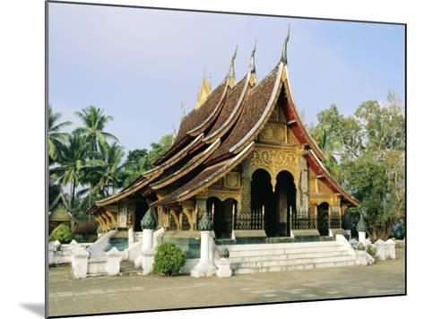 Wat Xieng Thong, Luang Prabang, Laos, Asia-Bruno Morandi-Mounted Photographic Print