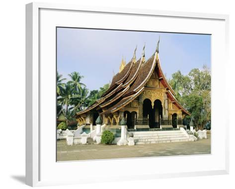 Wat Xieng Thong, Luang Prabang, Laos, Asia-Bruno Morandi-Framed Art Print