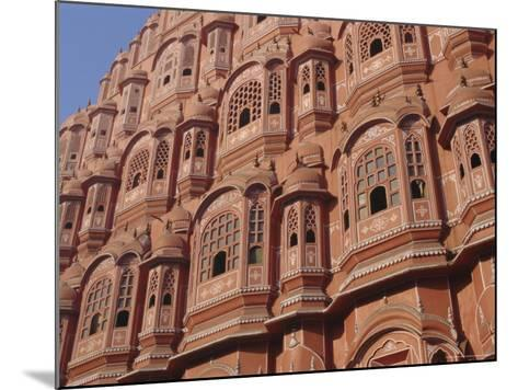 Hawa Mahal, Palace of Winds, Facade from Which Ladies in Purdah Looked Outside, Rajasthan, India-Hans Peter Merten-Mounted Photographic Print