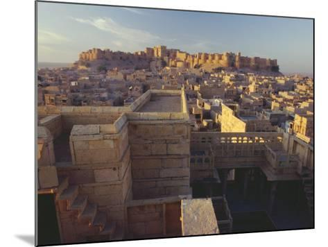 View of Jaisalmer Fort, Built in 1156 by Rawal Jaisal, Rajasthan, India-John Henry Claude Wilson-Mounted Photographic Print