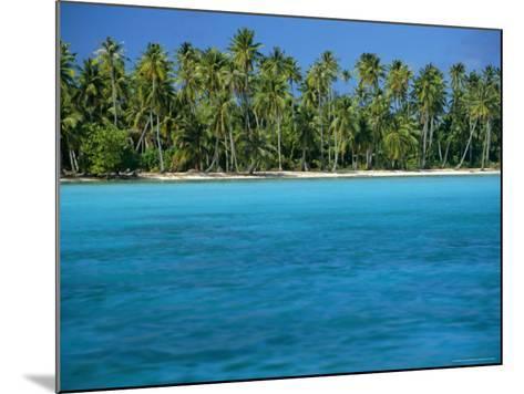 View Over Sea to the Beach, Bora Bora, Leeward Group, Society Islands, South Pacific Islands-Maurice Joseph-Mounted Photographic Print