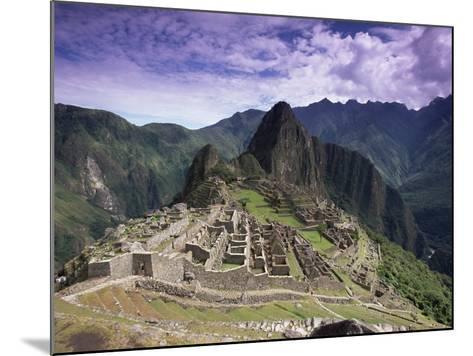Ruins of Inca City in Morning Light, Urubamba Province, Peru-Gavin Hellier-Mounted Photographic Print