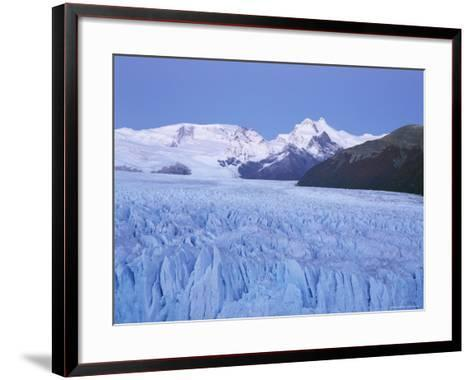 Perito Moreno Glacier and Andes Mountains, El Calafate, Argentina-Gavin Hellier-Framed Art Print