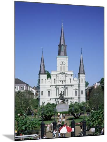 St. Louis Christian Cathedral in Jackson Square, French Quarter, New Orleans, Louisiana, USA-Gavin Hellier-Mounted Photographic Print