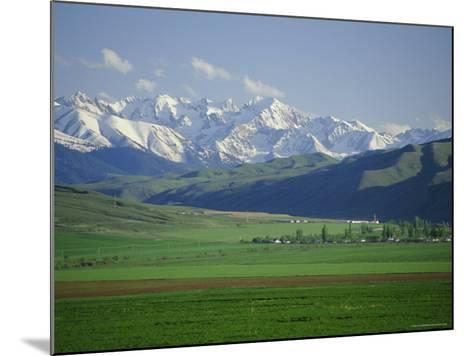 Tersey Alatoo Mountains by Lake Issyk-Kul, Tien Shan Range, Kirghizstan, Fsu, Central Asia-Gavin Hellier-Mounted Photographic Print