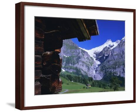 Bort, Swiss Alps, Switzerland-Ruth Tomlinson-Framed Art Print