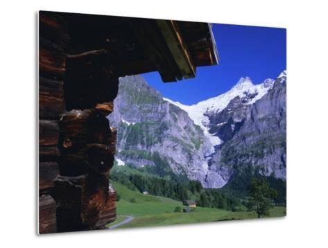 Bort, Swiss Alps, Switzerland-Ruth Tomlinson-Metal Print