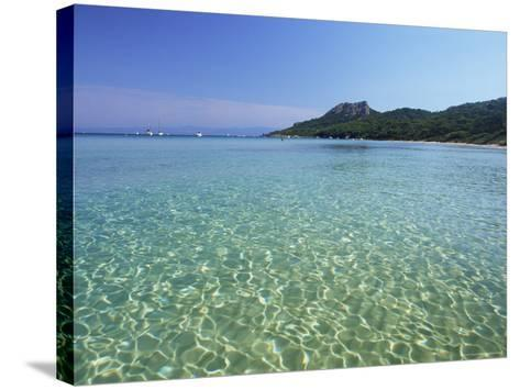 Still Waters off the Plage Notre Dame, Provence-Alpes-Cote-D'Azur, France-Ruth Tomlinson-Stretched Canvas Print