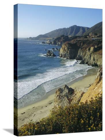 Ninety Miles of Rugged Coast Along Highway 1, California, USA-Christopher Rennie-Stretched Canvas Print