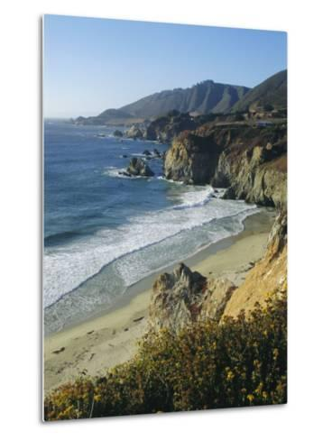 Ninety Miles of Rugged Coast Along Highway 1, California, USA-Christopher Rennie-Metal Print
