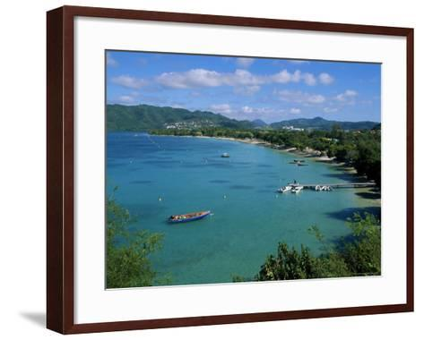 Saint Anne, Island of Martinique, Lesser Antilles, French West Indies, Caribbean, Central America-Yadid Levy-Framed Art Print