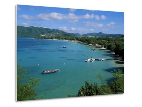 Saint Anne, Island of Martinique, Lesser Antilles, French West Indies, Caribbean, Central America-Yadid Levy-Metal Print