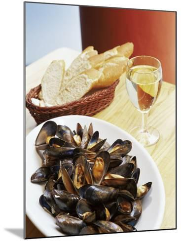 A Plate of Mussels, Glasgow, Scotland, United Kingdom, Europe-Yadid Levy-Mounted Photographic Print