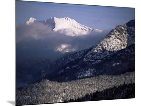Looking West from the Top of Whistler, Whistler, British Columbia, Canada, North America-Aaron McCoy-Mounted Photographic Print