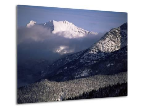 Looking West from the Top of Whistler, Whistler, British Columbia, Canada, North America-Aaron McCoy-Metal Print