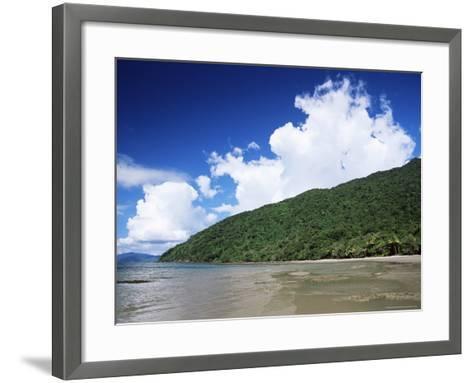 Great Barrier Reef and Rainforest, Queensland, Australia, Pacific-Jochen Schlenker-Framed Art Print