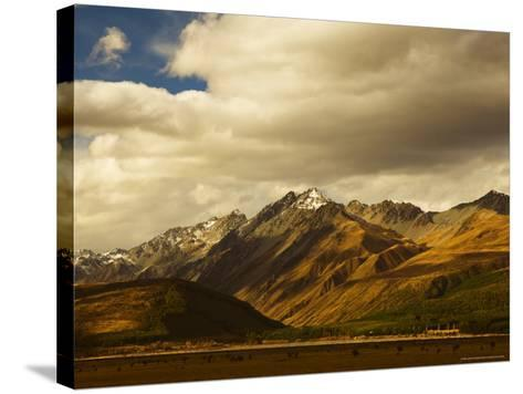 Ben Ohau Range, Canterbury, South Island, New Zealand, Pacific-Jochen Schlenker-Stretched Canvas Print