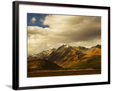 Ben Ohau Range, Canterbury, South Island, New Zealand, Pacific-Jochen Schlenker-Framed Art Print